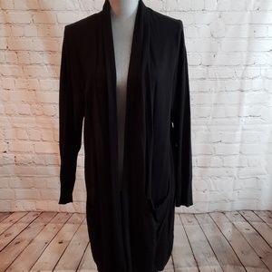 Cyrus Woman drape front long cardigan.  Sz 2X